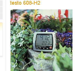 testo 608-H2温湿度表德图T608-H2温湿度表带LED报警,探头类型:NTC;量程:-10 ~ +70 °C;精度:±0.5 °C;分辨率:0.1 °C;温度量程: +2 ~ +98 %RH  如果您对【testo 608-H2温湿度表】的价格、厂家、型号、图片、技术参数、产品功能等有什么疑问,请联系我们获取testo 608-H2温湿度表的最新信息。